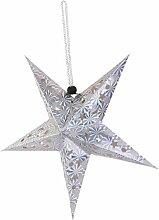 hsj Abat-jour en papier en forme d'étoile de