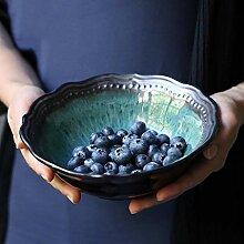 HSLXD.TCTW Céramique Creative Fruits Saladier