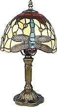 HSLY 15 Pouces Tiffany Lampes de Table RéTro LED
