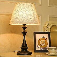 HtapsG Lampe de Table Lampe américaine Lampe