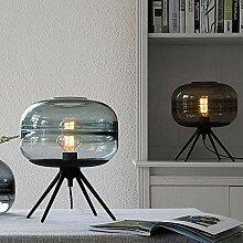 HtapsG Lampe de Table Lampe en Verre soufflé à