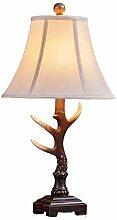 HtapsG Lampe de Table Lampe LED à la Main Résine