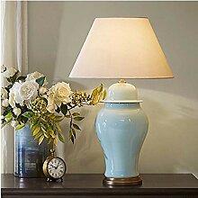 HtapsG Lampe de Table Lampe LED Laiton Vert