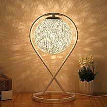 HTDZDX Lampe de table Lampe de chevet Simple