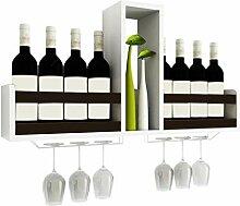 HTDZDX Porte-vin Autoportant Mural Cabinet,