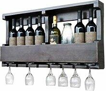 HTDZDX Vin Racks Mural Cabinet, Bouteille Vintage