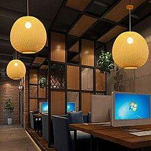 HTL Bamboo Art Plafonnier, Lampe Suspension de