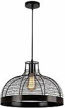 HTL Creative Black Pendentif Lampe Vintage de