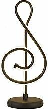 HTL Design de Mode Ledmusical Symbole Table Lampe