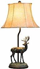 HTL Lampe de Bureau de Résine Vintage Salon