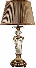 HTL Lampe de Bureau En Cristal Lampe de Table de