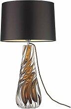 HTL Lampe de Table En Verre Salon Chambre À