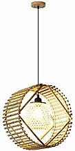 HTL Lustre En Bambou Caractéristique Créative