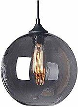 HTL Lustre En Verre de Barre Moderne, Lampe En