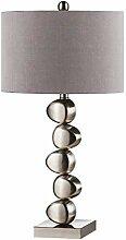 HTL Salon Creative Lampe de Table Grise Moderne