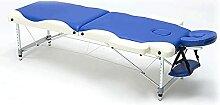 HuaBiao Table De Massage Pliante Aluminium