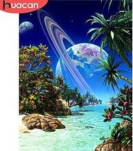 HUACAN – Kit de peinture diamant, paysage de