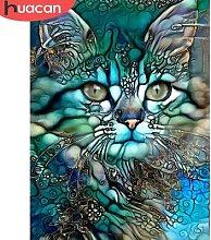 HUACAN – peinture diamant thème Animal,