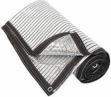 HUADA Tissu Shade 75% en Feuille d'aluminium