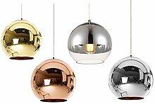 Huahan Haituo Abat-jour Moderne Cuivre Miroir