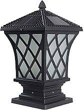 HUAQINEI Lampadaire Solaire extérieur Moderne à