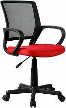 Hucoco - NOLIA | Chaise de bureau moderne pour