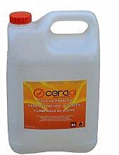 Huile de paraffine Ceragi Bidon de 5 litres.