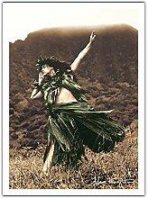 Hula Primitive - Hula Hawaïen Danseur - Photo