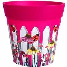 Hum Flowerpots Pot de Fleurs Colorés