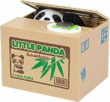 HuntGold cute panda volent l'argent boîte