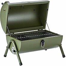 huokl Barbecue extérieur Portable Barbecue à