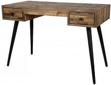 HUT - Bureau en bois vintage