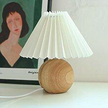 Hwjmy Lampe de table en rotin pour chambre à