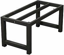 HXBH Table en métal Jambe Support Boucle Type de