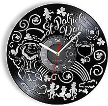 hxjie Horloge Murale en Vinyle de la