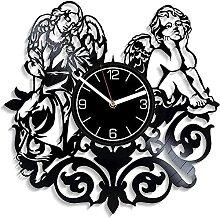 hxjie Horloge Murale en Vinyle Disque Vinyle