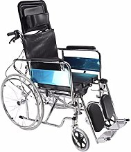 HXKJ Fauteuil Roulant Multifonctionnel Inclinable