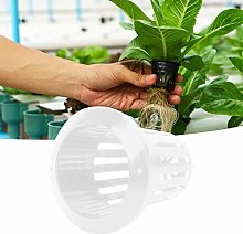 Hydroponique Net Pot, 50 Pcs Serre Jardin PP Sans