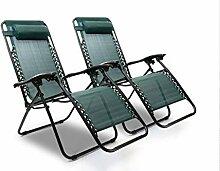 Hyfive Chaise longue pliante inclinable pour