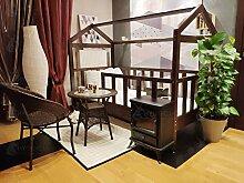 Hyggelia Mon lit cabane Bonnette de 45 cm de