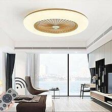 HYKISS LED Fan Plafonnier Moderne Nordique
