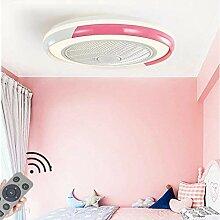 HYKISS LED Ventilateur De Plafond Dimmable