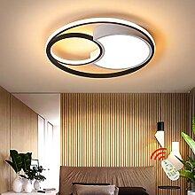 HYQJUNE Chambre Simplicité LED Plafonnier Lampe