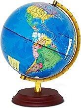 HYRL Globe Lumineux 25CM Anglais Pur LED Globe