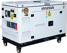 HYUNDAI Groupe électrogène Diesel 12kVA mono et