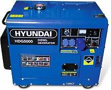 HYUNDAI Groupe electrogene diesel 5000 W -