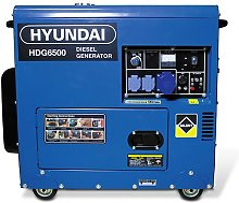 HYUNDAI Groupe électrogène diesel 6500W