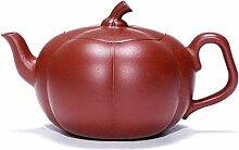 Hyy-yy Argile pourpre Teapot citrouille Teapot