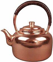 HYY-YY Pot cuivre bouilloire pot épais thé de