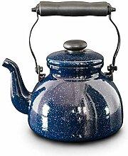 HYY-YY Pot pot pot émail bouilloire 2 litres